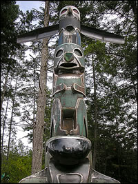 Sculpture by Lyle Hamer - Pender Island, BC